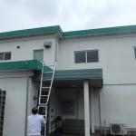豊川市にて屋根、外壁の塗り替え着工