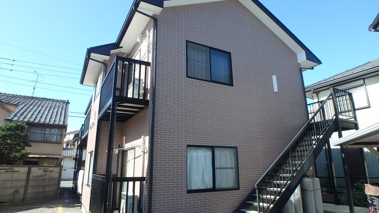 豊橋市 屋根、外壁塗装工事 デザイン塗装