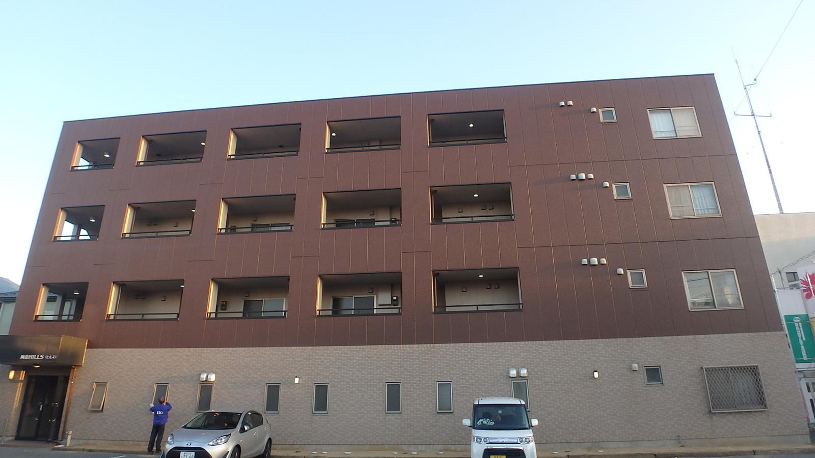 高耐候性の外壁用塗料を使用しました。