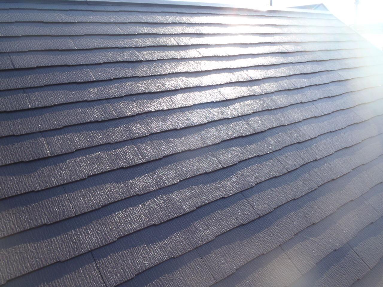豊川市 屋根塗装工事
